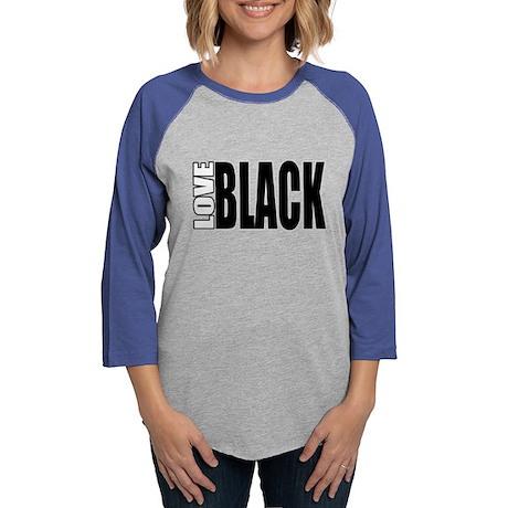 Love Black Long Sleeve T-Shirt