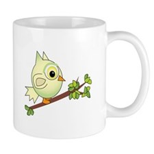 Owl In Tree Mugs