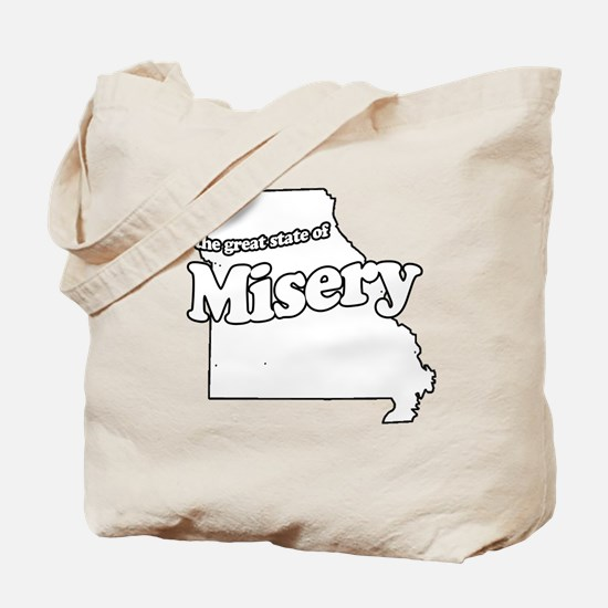 The Great State of Misery Tote Bag