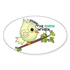 Owlive Branch Decal