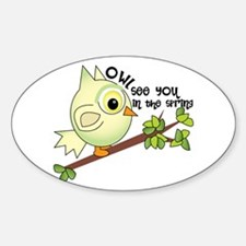 Owl See You Decal