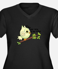 Owl See You Plus Size T-Shirt