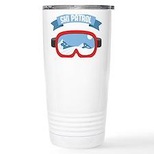 Ski Patrol Mask Travel Mug