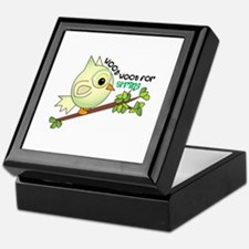 Woot For Spring Keepsake Box