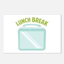 Lunch Break Postcards (Package of 8)