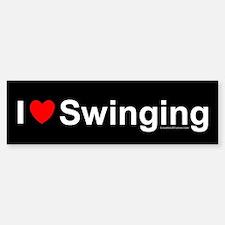 Swinging Bumper Bumper Sticker