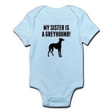 My Sister Is A Greyhound Body Suit
