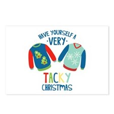 Very Tacky Christmas Postcards (Package of 8)