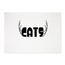 Cats 5'x7'Area Rug
