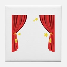 Stage Curtain Tile Coaster