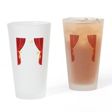Stage Curtain Drinking Glass