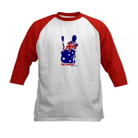 Kids Baseball - Lee Coulter Aussie Logo