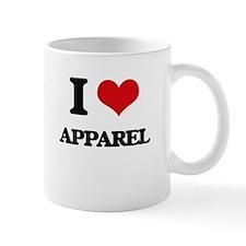I Love Apparel Mugs