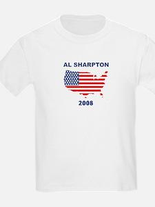 AL SHARPTON 2008 (US Flag) T-Shirt