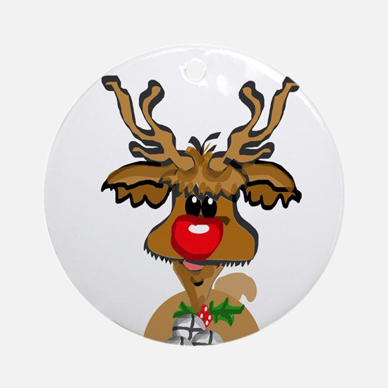 reindeer1.png Ornament (Round)