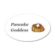 Pancake Goddess Wall Decal
