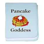 Pancake Goddess baby blanket
