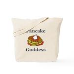 Pancake Goddess Tote Bag