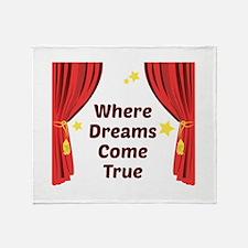Dreams Come True Throw Blanket