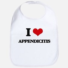 I Love Appendicitis Bib