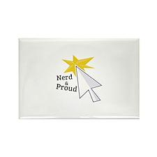 Nerd & Proud Magnets