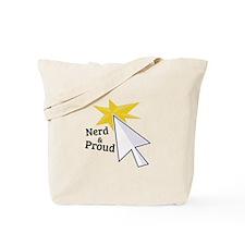 Nerd & Proud Tote Bag