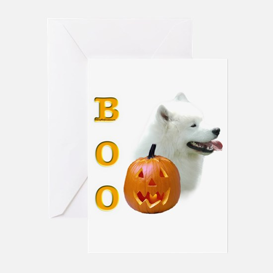 Samoyed Boo Greeting Cards (Pk of 10)