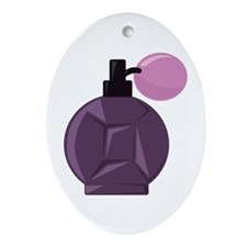 Perfume Bottle Ornament (Oval)