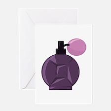 Perfume Bottle Greeting Cards