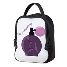 Dont Overdo It Neoprene Lunch Bag