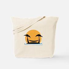 Tropical Hammock Tote Bag
