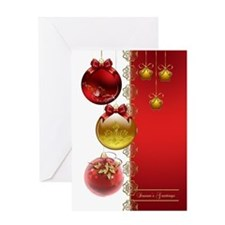 Business Christmas Ornament Card Greeting Cards