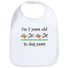 1 dog birthday 1 Bib
