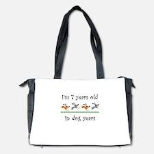 1 dog birthday 1 Diaper Bag