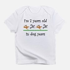 1 dog birthday 1 Infant T-Shirt