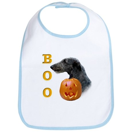 Deerhound Boo Bib