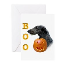 Deerhound Boo Greeting Cards (Pk of 10)