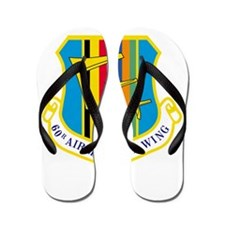 60th Airlift Military Wing.png Flip Flops