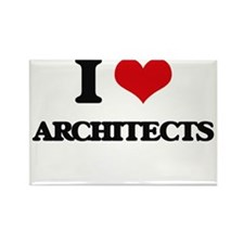 I Love Architects Magnets