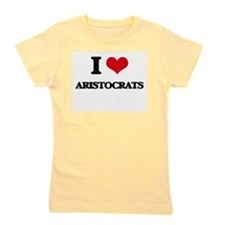 I Love Aristocrats Girl's Tee