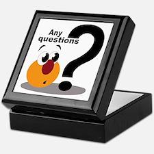 Any Questions Keepsake Box