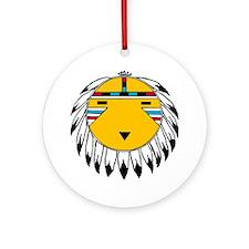 Sun Chief Ornament (Round)