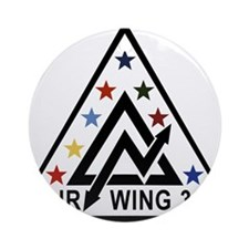 air_wing_30.png Ornament (Round)