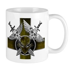 Swords w/Alien Crest Yellow Mug
