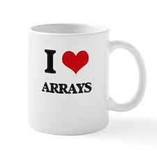 I Love Arrays Mugs