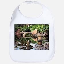 Japanese garden pond 2 Bib