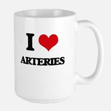 I Love Arteries Mugs