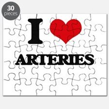 I Love Arteries Puzzle