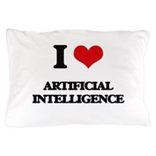 I Love Artificial Intelligence Pillow Case