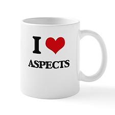 I Love Aspects Mugs